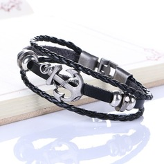 Sexy Alloy Leatherette Women's Fashion Bracelets (Sold in a single piece)