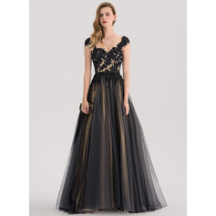 Robe Marquise Amoureux Balayage/Pinceau train Tulle Robe bal d'étudiant
