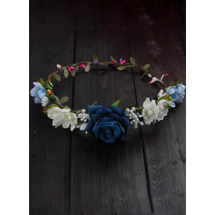 Artificial Flower With Flower Flower Headband (Sold in a single piece) (198207540)