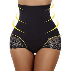 Classic/Costume/Casual Polyester/Cotton Shaper Briefs Shapewear (041238461)