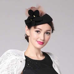 Ladies' Beautiful Wool/Silk With Fascinators