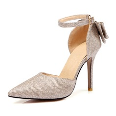 Femmes Similicuir Talon stiletto (047111881)