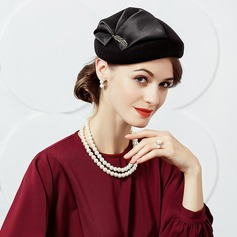 Ladies' Glamourous Wool With Silk Flower Fascinators/Tea Party Hats