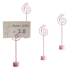 Lovely Iron Place Card Holders