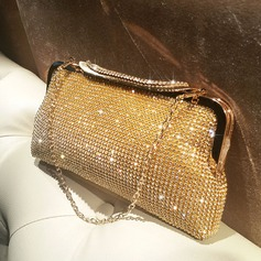 Brillante Cristallo / strass Pochette/Satchel (012118292)