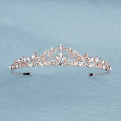 Beautiful Rhinestone/Alloy Tiaras With Rhinestone (Sold in single piece) (042235754)