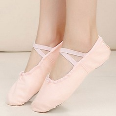 Women's Cloth Flats Pumps Ballet Dance Shoes (053108856)