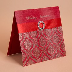 Blommig Stil Top Vik Invitation Cards (Sats om 50)