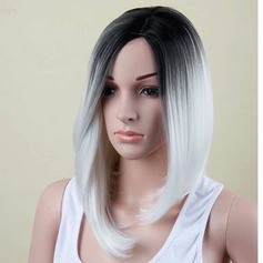 High temperature Straight Mid-Length Synthetic Wigs (219123955)