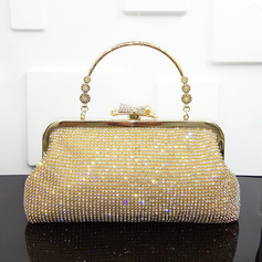 Charming/Bright/Attractive Crystal/ Rhinestone Top Handle Bags/Bridal Purse/Evening Bags (012220710)