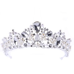 Lovely Alloy Tiaras With Rhinestone