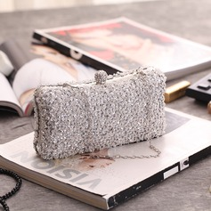 Delicate Polyester Clutches/Luxury Clutches (012199355)