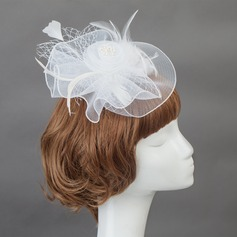 Charme Feather/Plastique Chapeaux de type fascinator