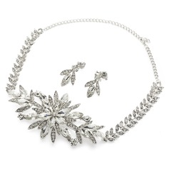 Gorgeous Alloy/Rhinestones Ladies' Jewelry Sets (011058672)