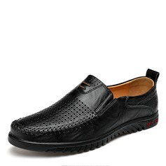 Men's Real Leather Casual Men's Loafers (260172145)