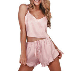 Classic Imitated Silk Cami Sets Cami Sets
