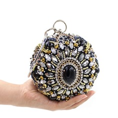 Colorful Czech Stones Clutches