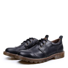Men's Real Leather Lace-up Casual Work Men's Oxfords (259172123)