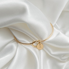 Elegant Alloy Initial Bracelets Bracelets For Bride/For Bridesmaid