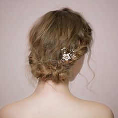 Ladies Unique Crystal/Rhinestone Hairpins With Rhinestone/Crystal