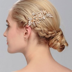 Ladies Special Rhinestone/Alloy/Imitation Pearls Hairpins With Rhinestone/Venetian Pearl