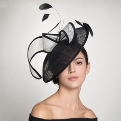 Dames Klassiek/Artistieke Batist Fascinators/Kentucky Derby Hats