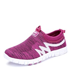 Women's Fabric With Elastic Band Sneakers & Athletic