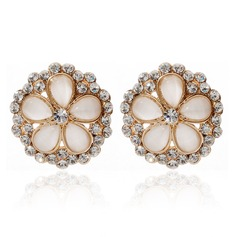 Beautiful Alloy With Rhinestone Ladies' Earrings (011027318)