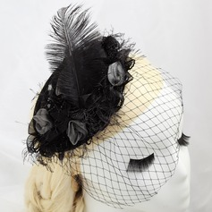 Betoverend Kunstzijde/Feather Fascinators