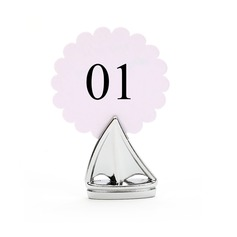 Sails Zinc Alloy Place Card Holders (Set of 4)
