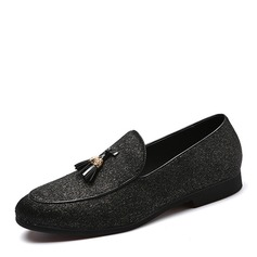 Men's Leatherette Tassel Loafer Casual Men's Loafers (260171627)