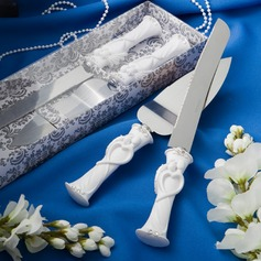 Bride and Groom Design Serving Sets