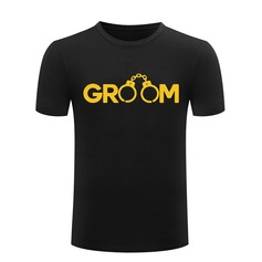 Groom Gifts - Modern Cotton T-Shirt (257171754)