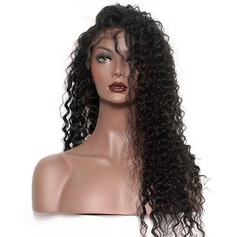 360 Frontal 4A Non remy Deep Human Hair Closure (Sold in a single piece) 180g