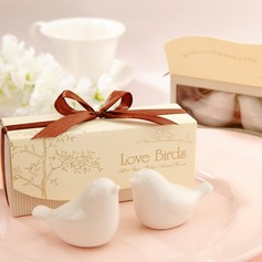 Love Birds Salt and Pepper Shakers Wedding Favor