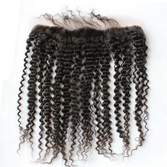"13""*4"" 5A Kinky Curly Human Hair Closure (Sold in a single piece)"