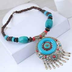 Nice Alloy Resin Women's Fashion Necklace