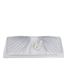 Shining Satin Clutches