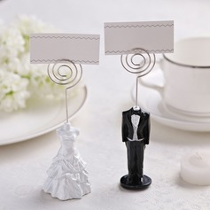 Tuxedo & Gown Resin Place Card Holders (Set of 2 pieces)
