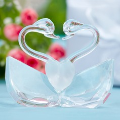 Swan Design Crystal Keepsake (051024983)