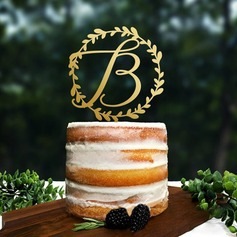 Classic Wood Cake Topper