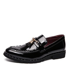 Men's Patent Leather Tassel Loafer Casual Dress Shoes Men's Loafers