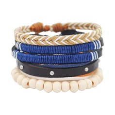 Holz Unisex Mode Armbänder (Sold in a single piece)