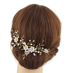 Ladies Glamourous Imitation Pearls/Beads Headbands (Sold in single piece)