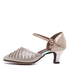 Women's Microfiber Leather Sandals Latin Dance Shoes