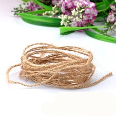 Diameter 1.5mm Length 10m Jute Burlap Rope Party Gifts Packaging Materials