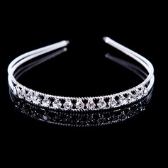 Romantic Alloy/Rhinestones Ladies' Hair Jewelry