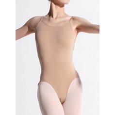 Frauen Tanzkleidung Elasthan Nylon Ballett Training Turnanzug