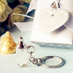 Baby bottle design key chain favors (Sold in a single piece)