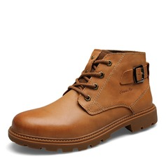 Men's Real Leather Chukka Casual Men's Boots